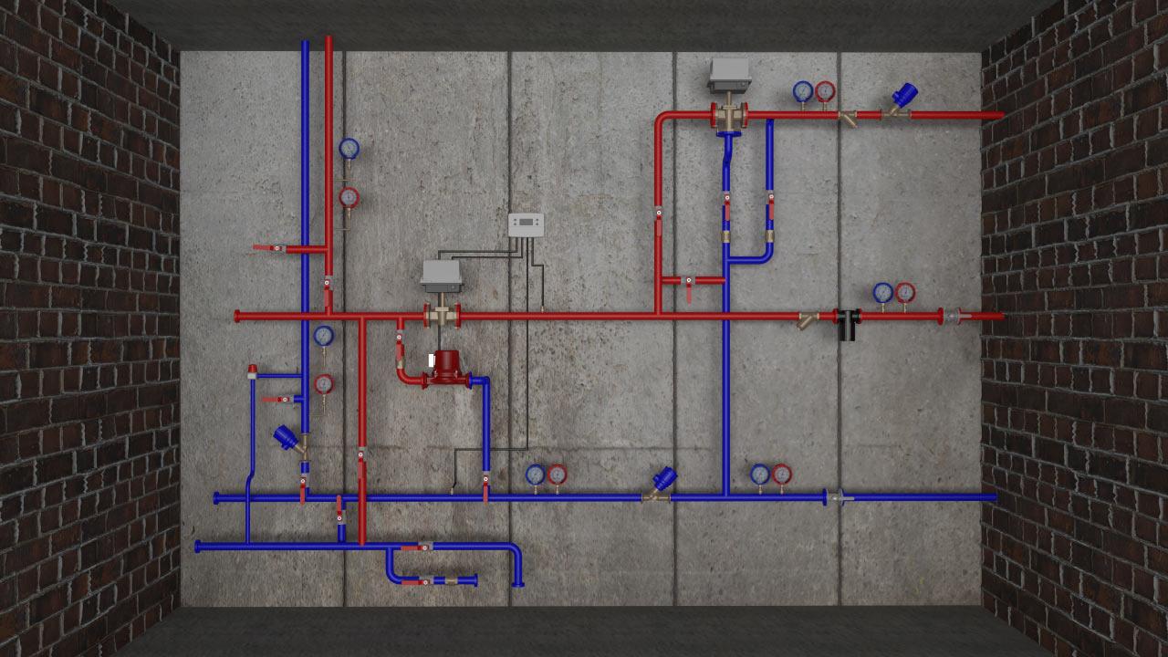 проектирование тепловых узлов: