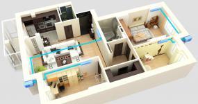 системы кондиционирования жилых зданий | ОВ-ПРОЕКТ