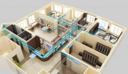 системы кондиционирования офисных зданий, офисов | ОВ-ПРОЕКТ
