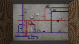 системы тепловых узлов с вентиляцией | ОВ-ПРОЕКТ