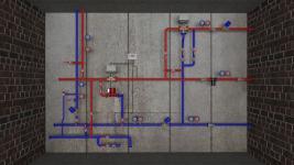 системы тепловыых узлов с погодным регулированием | ОВ-ПРОЕКТ