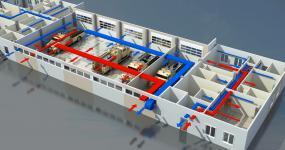 проект системы вентиляции производственных зданий | ОВ-ПРОЕКТ