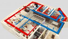системы вентиляции офисных зданий, офисов | ОВ-ПРОЕКТ